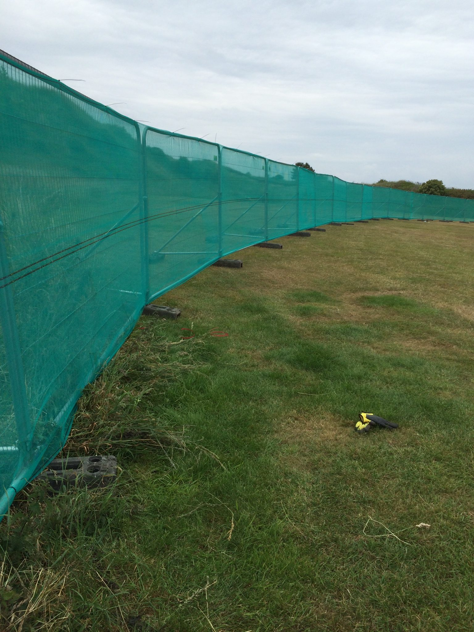 Fencing with Netting